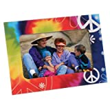 peace picture frame - Magnetic Frames (Tie Dye Peace)