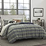 Eddie Bauer Rugged Plaid Comforter Set, Full/Queen, Dune