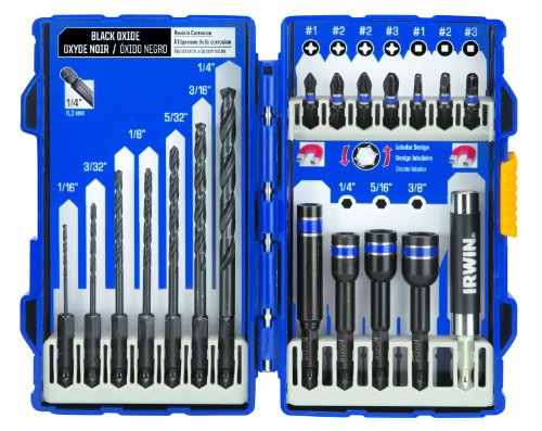 Irwin Tools  1840316 19-Piece Impact Series Drill/Drive Set