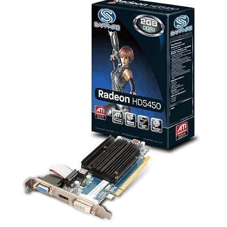 Sapphire Radeon HD5450 - Tarjeta gráfica de 2 GB (DDR3, PCIe ...