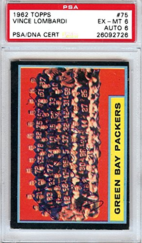 Vince-Lombardi-Autographed-1962-Topps-Card-75-Green-Bay-Packers-To-John-10263-PSADNA-26092726