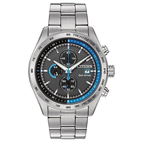 Citizen-Mens-Eco-Drive-Quartz-Stainless-Steel-Dress-Watch-ColorSilver-Toned-Model-CA0251-53E
