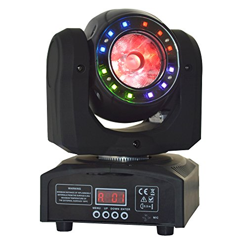 Led Moving Beam Light,Mini Moving Head,1x40w 4IN1 RGBW And 12pcs SMD 3IN1 Led Moving Wash Light,Use For Disco, Ballroom, KTV, Bar,Club,Party,Wedding