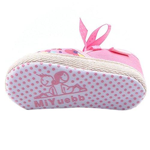Transer ,  Baby, Jungen Baby Mädchen Unisex Babys Durchgängies Plateau Sandalen mit Keilabsatz Weiß