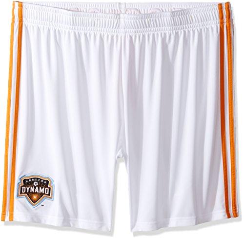 Adidas Replica Shorts (adidas MLS Houston Dynamo Men's Replica Shorts, Medium, White)