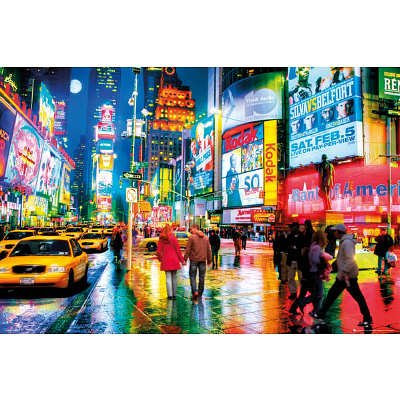 New York Times Square Photography Poster