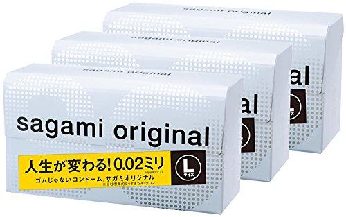 JAPAN SAGANI ORIGINAL 002 12pcs L-size condom 3boxes +Fighting Spirit lotion 12 ml … by 002
