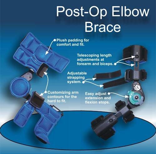 DLX Range of Motion Post Operative Elbow Brace, Left by Ortho Depot (Image #4)
