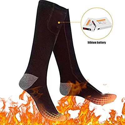 3 Heating Settings Thermal Sock for Men /& Women Jomst Electric Heated Socks Rechargeable 3.7V 2200mAh Battery Powered Winter Outdoor Sport Driving Camping Riding Warm Winter Socks