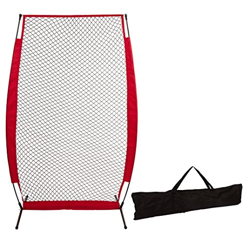 7' Baseball Softball Protective Screen for Batting Practice by Trademark Innovations by Trademark Innovations