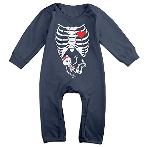 Maternity Skeleton My Lovely Princess Infant Romper Jumpsuit Romper Clothing Navy 18 Months (Skeleton Maternity Shirt Iron On)