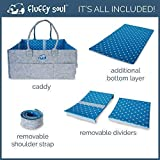- Stylish Changing Table Baby Basket Fluffy Soul Baby Diaper Caddy Organizer