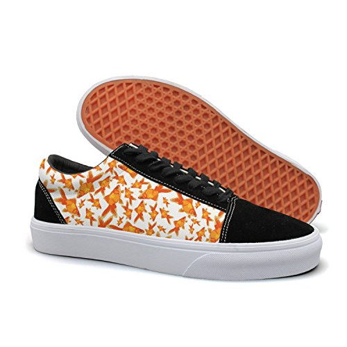 Shoes Flat Classic Print Sneakers Simple Casual Api Goldfish Women's EHY29IWD