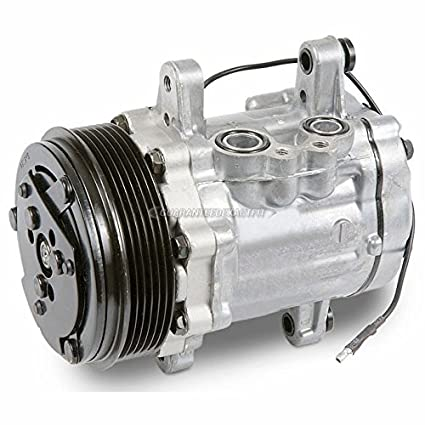 New AC Compressor & A/C Clutch Replaces Sanden 7176 Sd7B10 Style Swing  Mount -