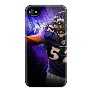 Durable Hard Phone Case For Iphone 6 (FNH5234OrVa) Allow Personal Design Colorful Baltimore Ravens Series