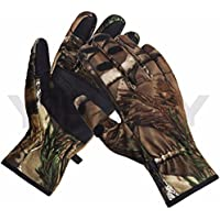 REALTREE FABRIC STRETCH GLOVES THERMAL HUNTING REALTREE...