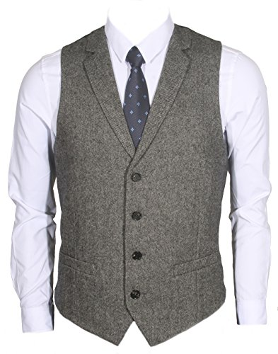 Tailored Wool Vest - 3