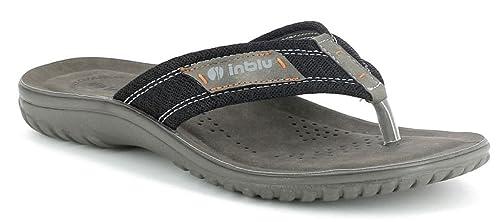 scarpe di separazione nuovo stile di vita nuove foto inblu Infradito Ciabatte da Uomo MOD.FN-72 Nero (41): Amazon.it ...