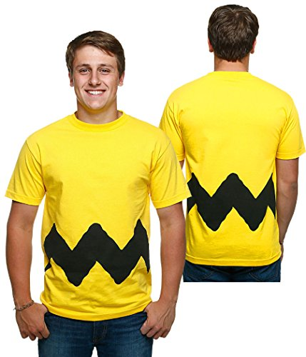 Peanuts I Am Charlie Brown Costume T-Shirt-Large