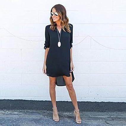Amazon.com : HOSOME Women Top Women Blouse Chiffon Long Sleeve T Shirt Casual Dress Tops : Grocery & Gourmet Food