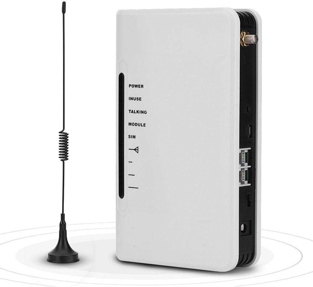 Yunir Cabina telefónica inalámbrica a Cable gsm El Trabajo de 24 Horas Puede conectar la Caja telefónica Grabadora de Alarma RJ-11 Línea telefónica ...