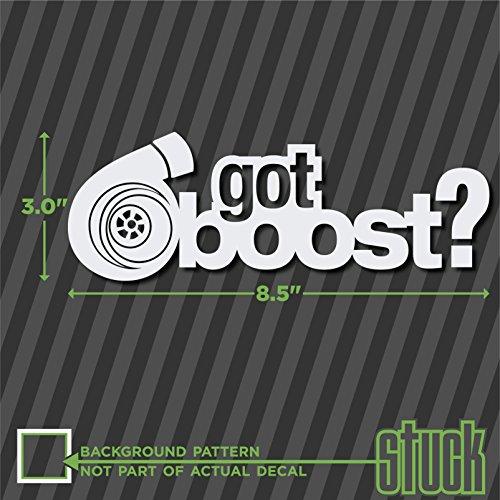 Got Boost ? - 8.5