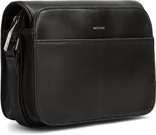 Matt and Nat Elle Vintage Crossbody Bag, (Elle Black Bag)