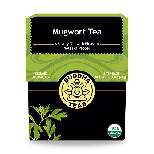 Organic Mugwort Tea Caffeine GMO Free
