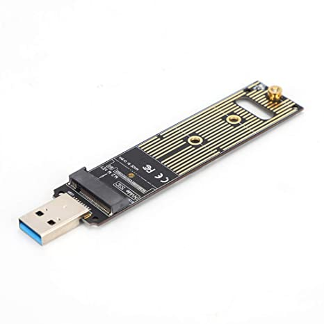 ASHATA M.2 NVME SSD a USB Tarjeta Adaptadora, Placa ...
