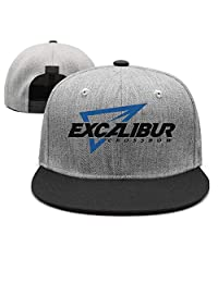 BLFHJ Excalibur Archery Logo Unisex Womens Vintage Hip Hop Hat Six Panel Rock Cap