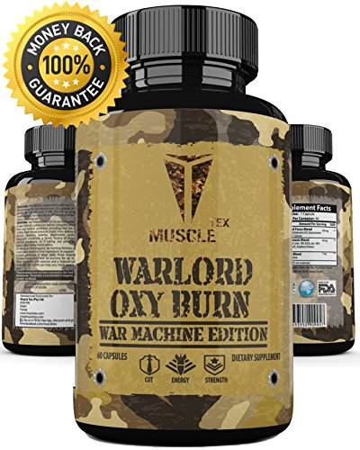 _ANABOLIC_Warlord OXY Burn_ * Thermogenics for Weight Loss – Thermogenic Fat Burners for Men– Thermogenic Fat Burners for Women – MEGA Fast Acting OXY Burn! Termogenic Pills For Sale