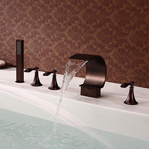 FACAI168 Tout robinet de baignoire en cuivre cascade petite C ORB ...