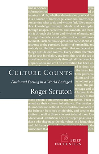 Culture Counts: Faith and Feeling in a World Besieged (Brief Encounters)