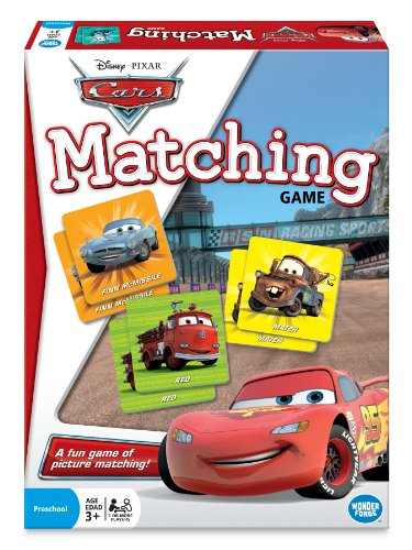 Disney Pixar Cars Matching Game (Cars Game)