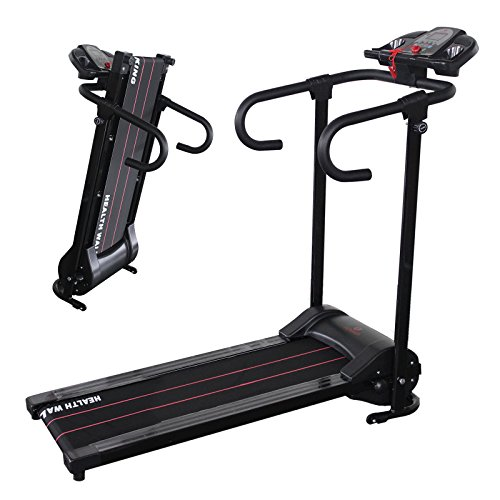 Portable 500W Folding Electric Motorized Treadmill Running Gym Fitness Machine by ZETY (Image #1)'