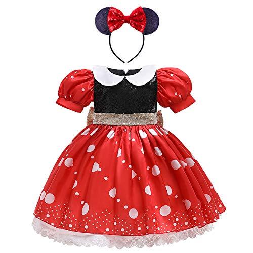 FYMNSI Meisje Prinses Kostuum Fancy Dress Up Cosplay Halloween Kerstmis Verjaardag Feestoutfit Kids Carnaval…