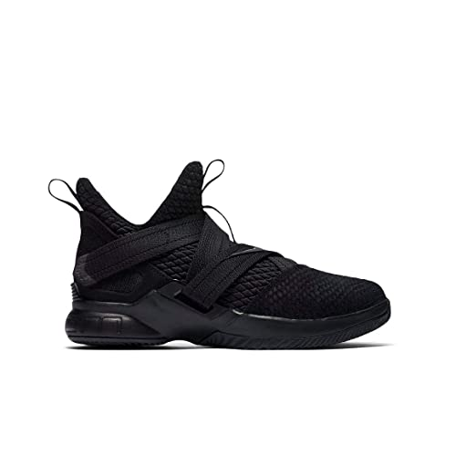san francisco acad6 51db1 Nike Lebron Soldier XII (12) SFG Black Grade School AO2910-005