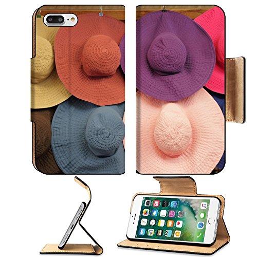 liili-premium-apple-iphone-7-plus-flip-pu-leather-wallet-case-colorful-summer-woman-sun-hats-on-mark