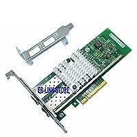 EB-LINK PCIE 8X Dual 10 Gigabit Ethernet Server Adapter - INTEL 82599 Chipset - Intel X520-SR2 - E10G42BTDA Compatible