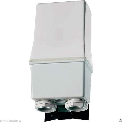 Schema Elettrico Interruttore Crepuscolare 230v : Finder pas interruttore crepuscolare con invertitore