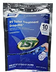 Camco 41520 Blue TST Enzyme Drop-in, Bag of 10