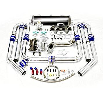 High Performance Upgrade T04E T3 8pc Turbo Kit - Honda K20 Engine