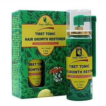 Amazon.com: Tibet Tonic Hair Growth Restorer - 12.12 Oz (12 Ml) - 12 ...