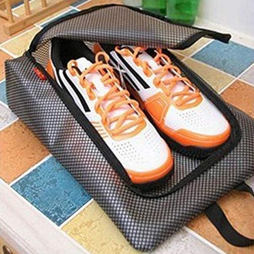 QUAN Storage Bag 靴バッグ3 PCS防水旅行バッグトラベルホーム荷物預かりバッグ洋服靴収納オーガナイザー(ブルー) (色 : ピンク)
