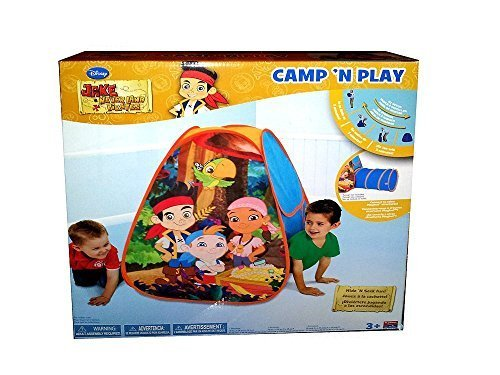 Disney's Jake and the Neverland Pirates Treasure Camp 'N Play Tent by Playhut