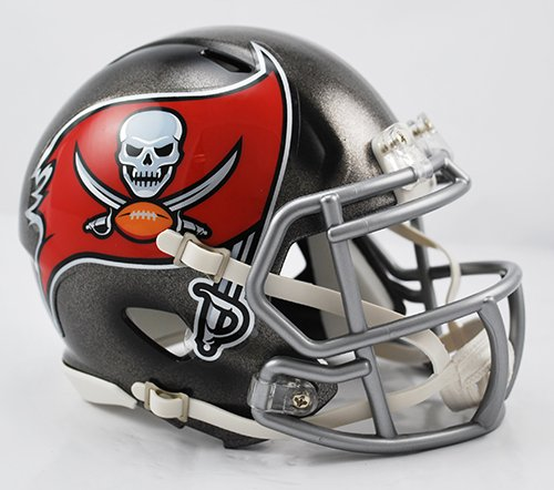 Tampa Bay Bucs Riddell Speed Mini Football Helmet - New in Box