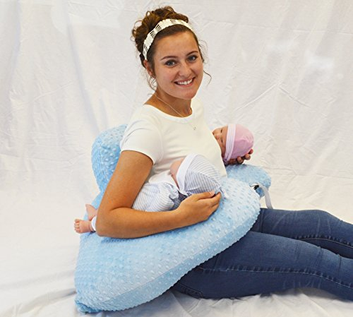 Twin Z Pillow + 1 Designer Pink Whimsy Cover + FREE Travel Bag! … by Twin Z PIllow (Image #4)