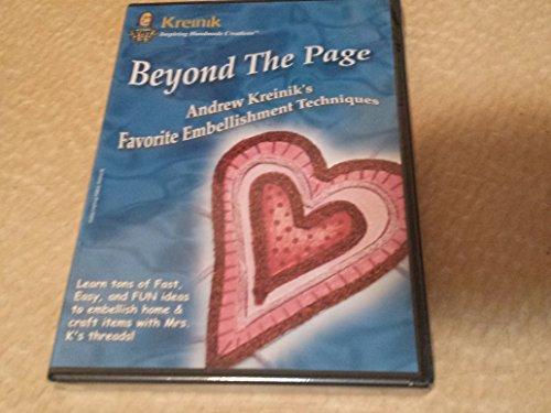Beyond the Page - Andrew Kreinik's Favorite Embellishment Techniques (Dvd)