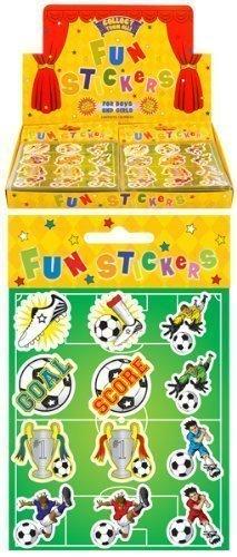 24 Paquetes Mini Fútbol Pegatinas Niños Detalles Para ...