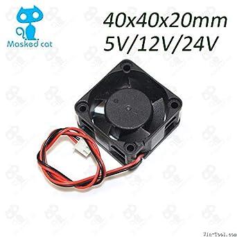 Amazon.com: 1 mini ventilador de refrigeración para CPU de ...